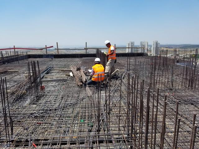 עבודות גמר מתקדמות: עבודות איטום וניקיון חזיתות 28.07.2019