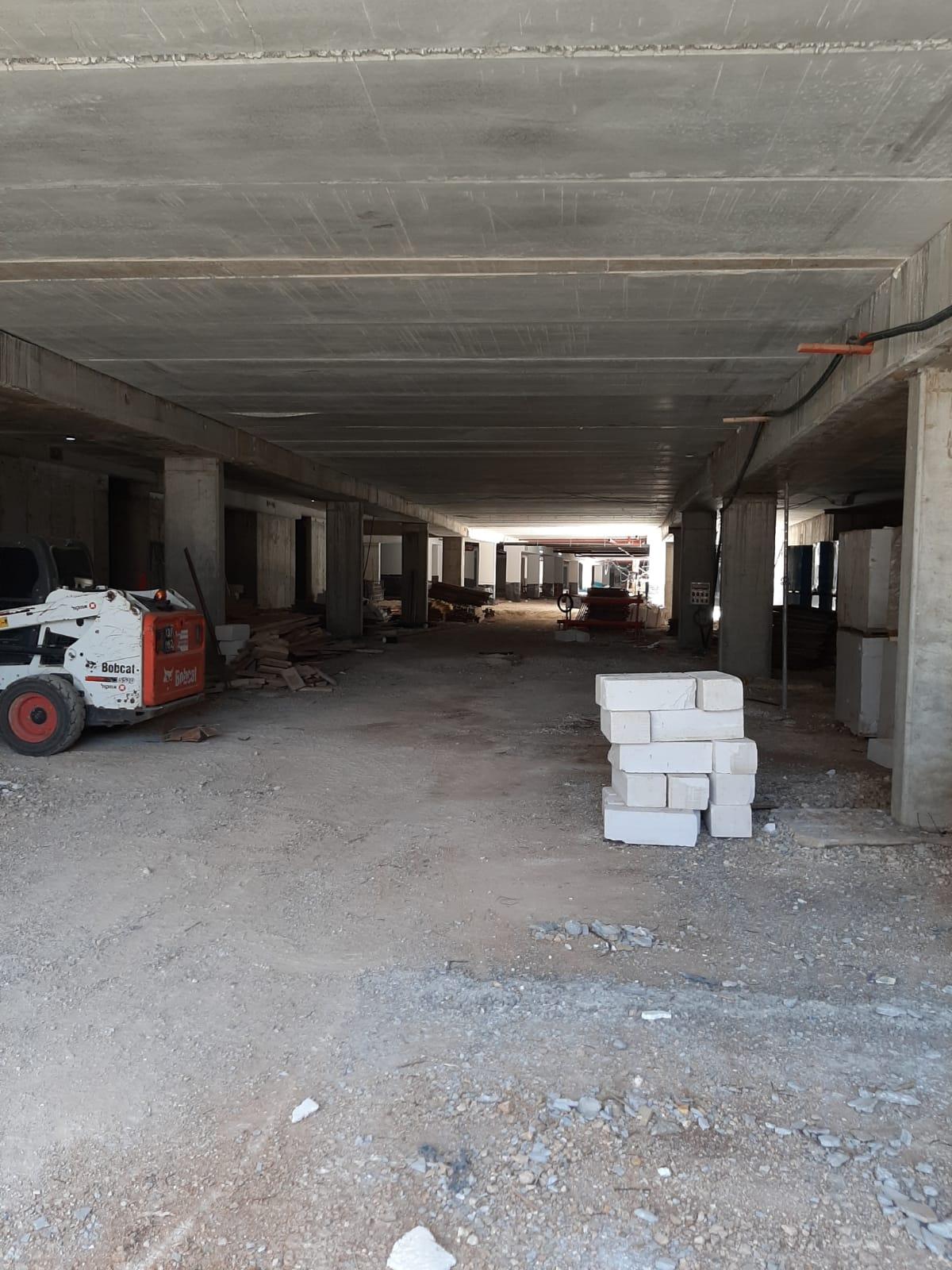 מגרש 107 סיום שלד בניינים - שדרת הפארק ועבודות מרתף - החלקת בטון וצבע | מגרש 106 התחלת שלדים - שדרת הפארק ועבודות סיום מרתף 05.05.2020
