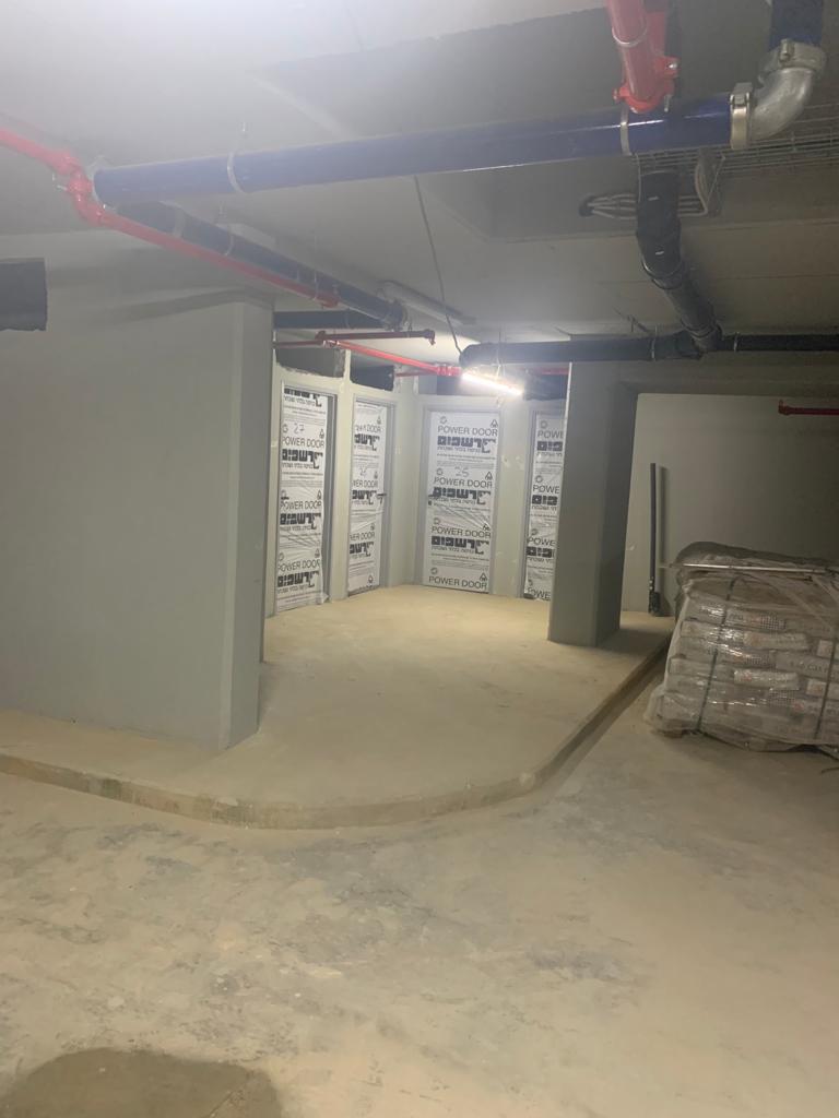 עבודות שלד- רצפה קומה 1, במרתף עבודות גבס מסגרות טרפו ומדרכות | עבודות גמר במתנ