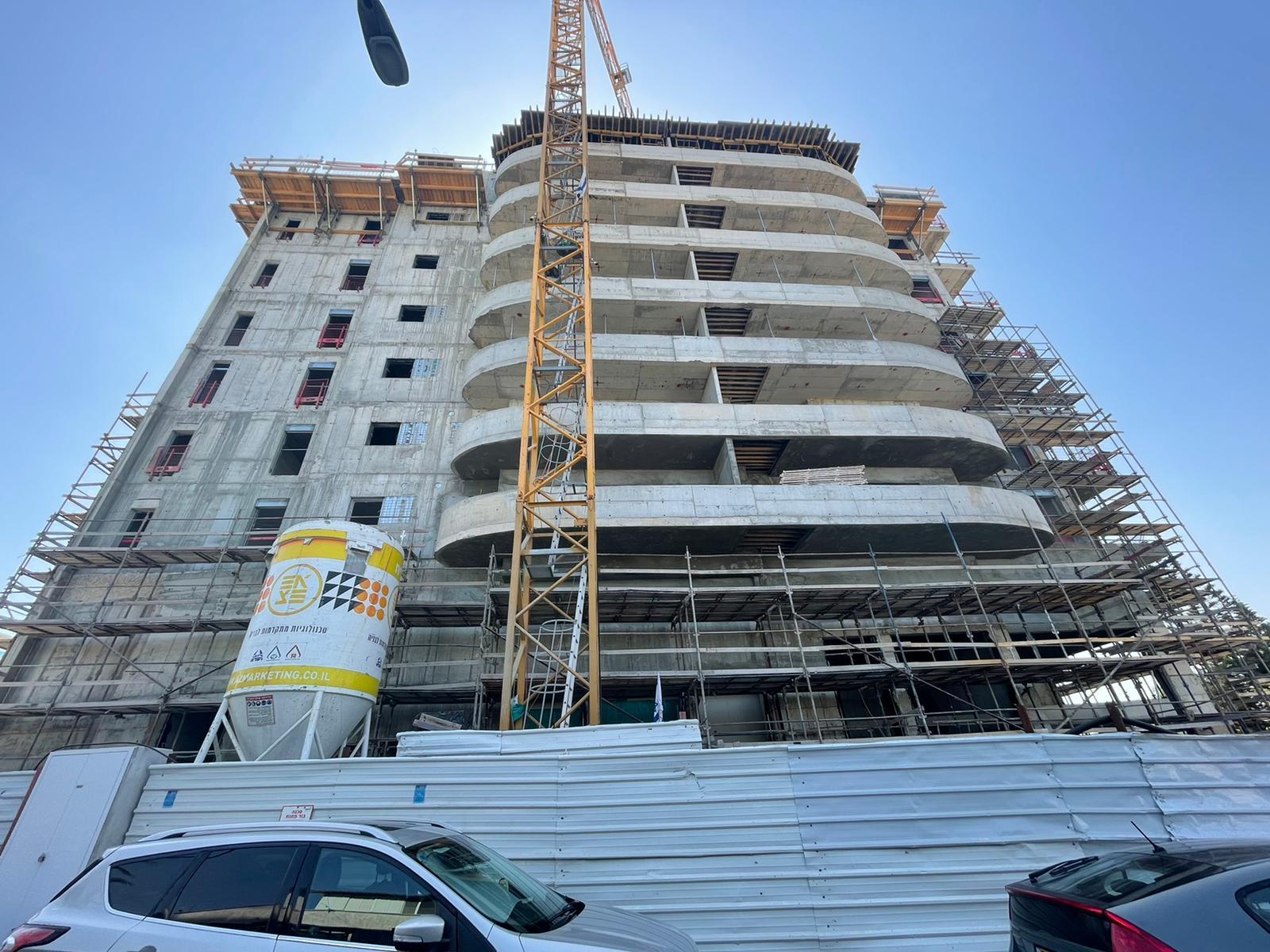 עבודות סיום שלד   עבודות גמר קומה 3 08.07.2021