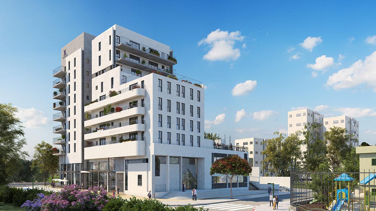 הדמיית יום, פרויקט Almog The Complex - תל אביב