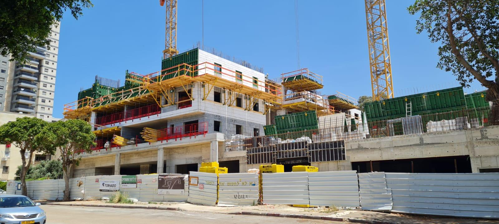 עבודות שלד קומה 3 וסיום עבודות מרתף 25.05.2021